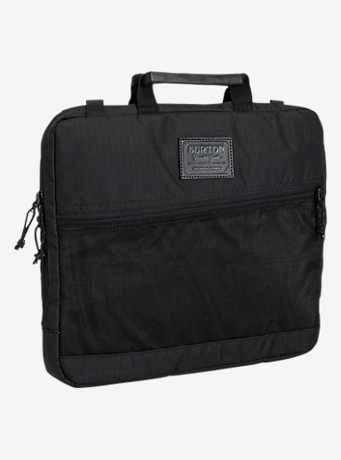 Burton Hyperlink 13in Laptop Case shown in True Black Triple Ripstop