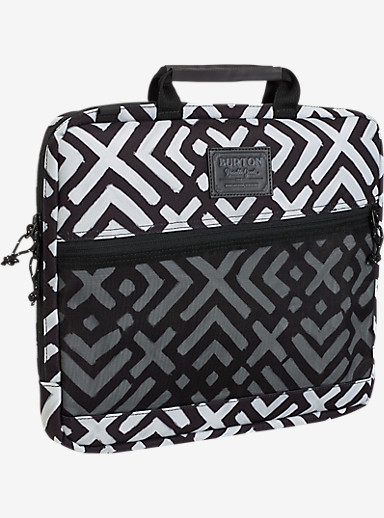 Burton Hyperlink 13in Laptop Case shown in Geo Print
