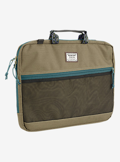 Burton Hyperlink 15in Laptop Case shown in Rucksack Slub