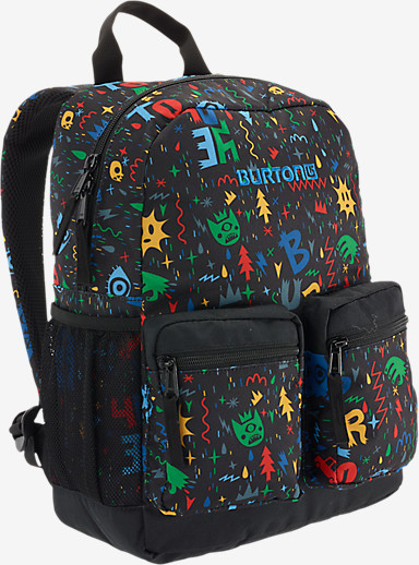 Burton Youth Gromlet Backpack shown in Yeah! Print
