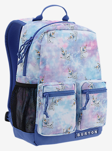 Disney Frozen Kids' Gromlet Backpack shown in Olaf Frozen Print © Disney