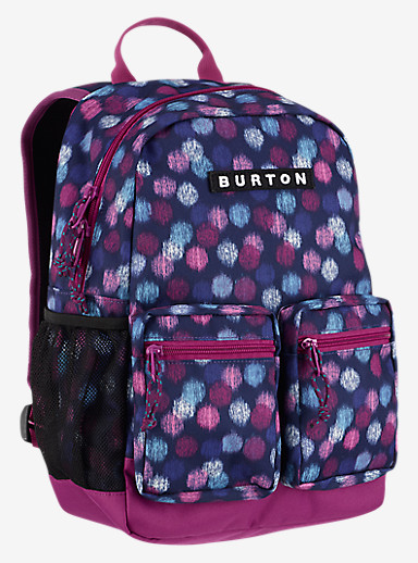 Burton Kids' Gromlet Backpack shown in Ikat Dot Print