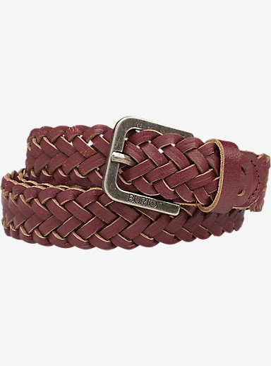 Burton Women's Intertwine Belt shown in Zinfandel