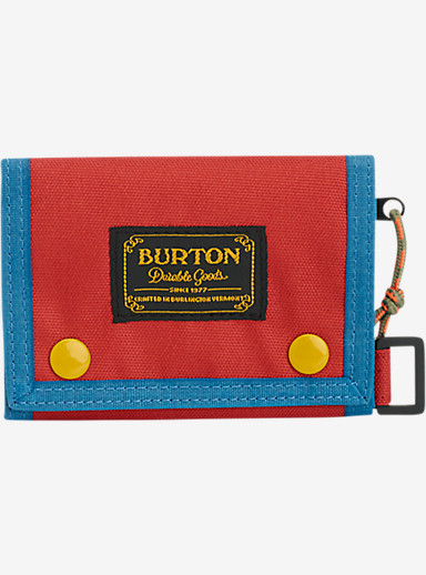 Burton Cory Wallet shown in Red Clay