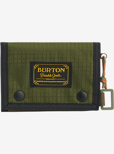 Burton Cory Wallet shown in Olive Night