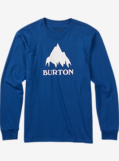 Burton Classic Mountain Long Sleeve T Shirt shown in True Blue