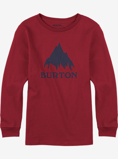 Burton Classic Mountain Long Sleeve T Shirt shown in Process Red