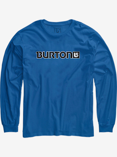 Burton Logo Horizontal Long Sleeve T Shirt shown in Web