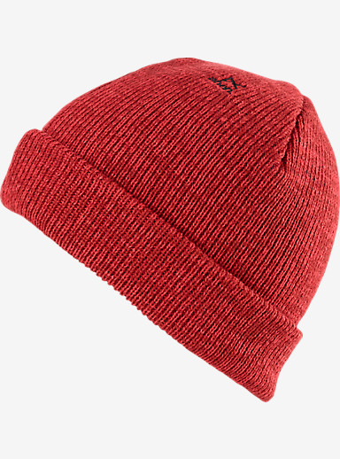 anon. Burgess Beanie shown in Blaze Red