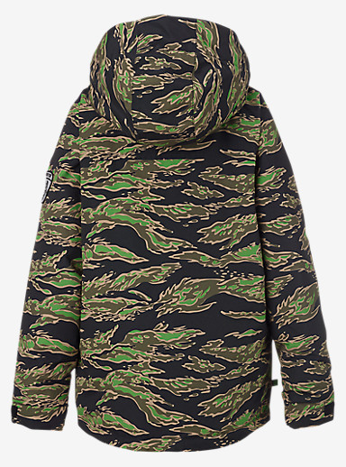 Burton Boys' Fray Jacket shown in Beast Camo