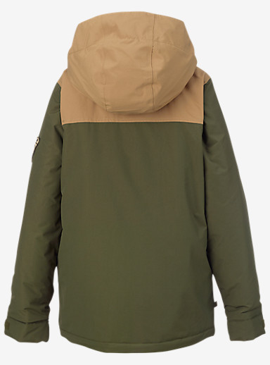 Burton Boys' Fray Jacket shown in Keef / Kelp