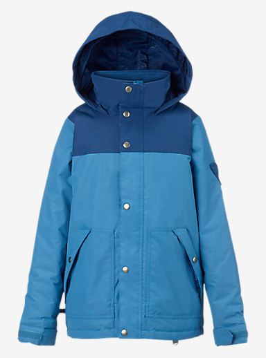 Burton Boys' Fray Jacket shown in Boro / Glacier Blue