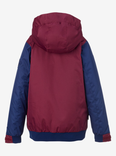 Burton Girls' Twist Bomber Jacket shown in Sangria / Spellbound