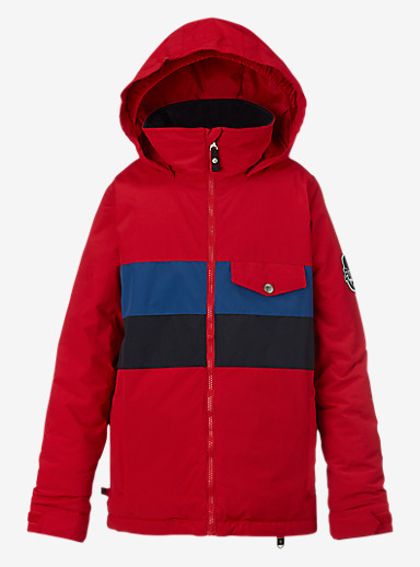 Burton Boys' Symbol Jacket shown in Process Red Block