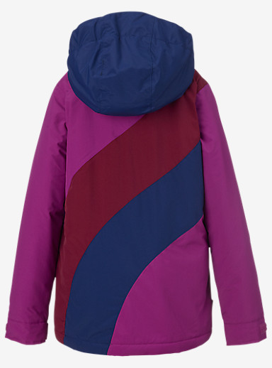 Burton Girls' Hart Jacket shown in Grapeseed Block