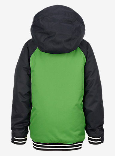 Burton Boys' Minishred Game Day Jacket shown in Slime / True Black