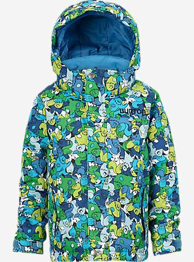 Burton Boys' Minishred Amped Jacket shown in Sasquatch