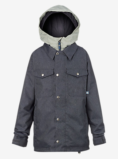 Burton Boys' Uproar Jacket shown in Denim