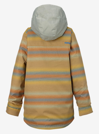 Burton Boys' Uproar Jacket shown in Beach Stripe Yarn Dye