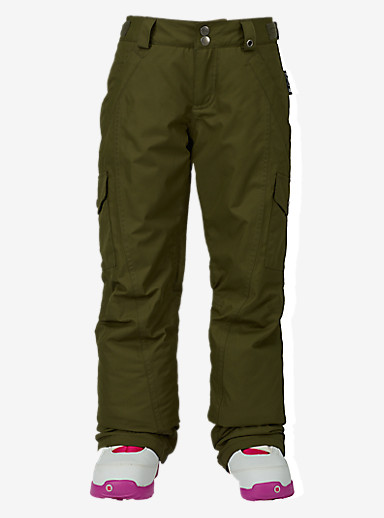 Burton Girls' Elite Cargo Pant shown in Keef