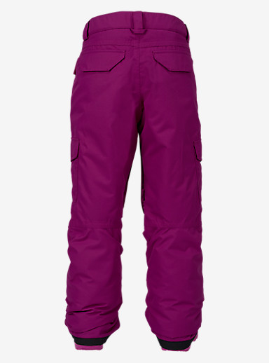 Burton Girls' Elite Cargo Pant shown in Grapeseed
