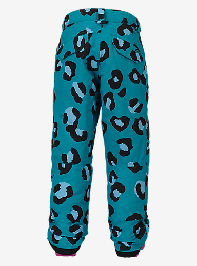 Burton Girls' Sweetart Pant shown in Everglade Super Leopard
