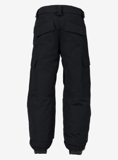 Burton Boys' Exile Cargo Pant shown in True Black