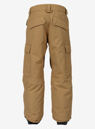 Burton Boys' Exile Cargo Pant shown in Kelp