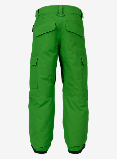 Burton Boys' Exile Cargo Pant shown in Slime