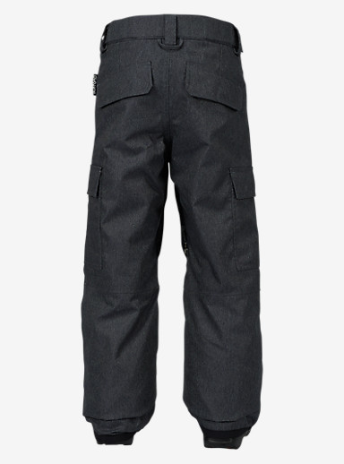Burton Boys' Exile Cargo Pant shown in Denim