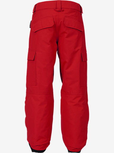 Burton Boys' Exile Cargo Pant shown in Process Red