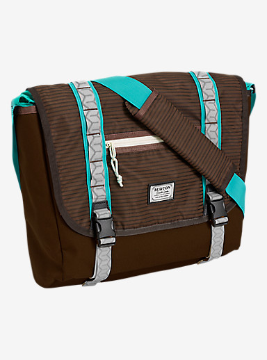 Burton Flint Messenger Bag shown in Beaver Tail Crinkle [bluesign® Approved]