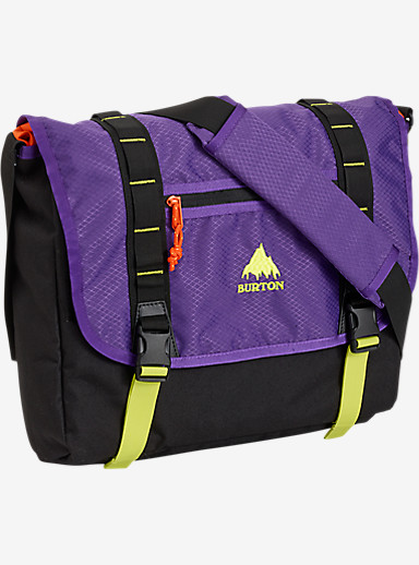Burton Flint Messenger Bag shown in Grape Crush Diamond Ripstop