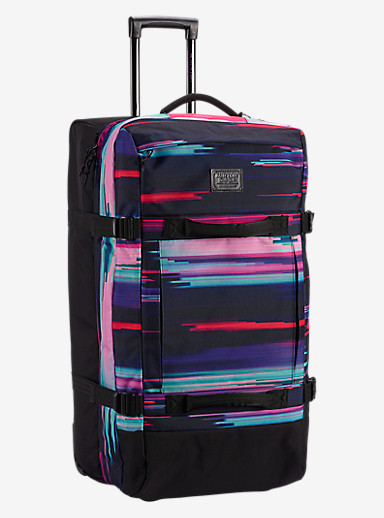 Burton Exodus Roller Travel Bag shown in Glitch Print