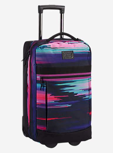 Burton Charter Roller Travel Bag shown in Glitch Print