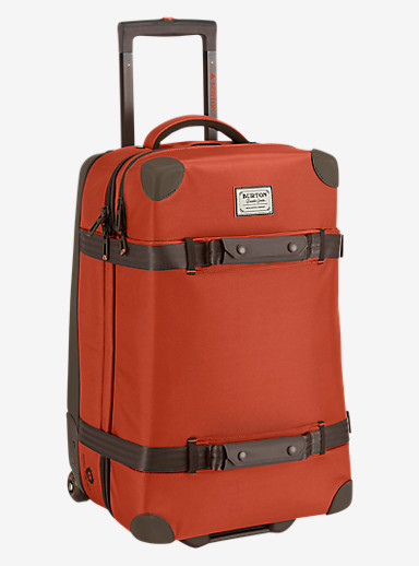 Burton Wheelie Cargo Travel Bag shown in Burnt Ochre [bluesign® Approved]