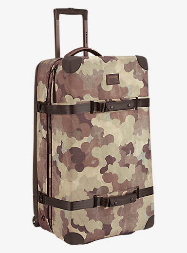 Burton Wheelie Sub Travel Bag shown in Storm Camo Print