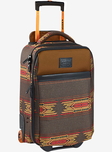 Burton Wheelie Flyer Travel Bag shown in Sierra Print