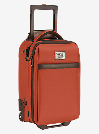 Burton Wheelie Flyer Travel Bag shown in Burnt Ochre [bluesign® Approved]