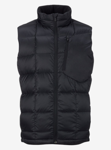Burton [ak] BK Down Insulator Vest shown in True Black