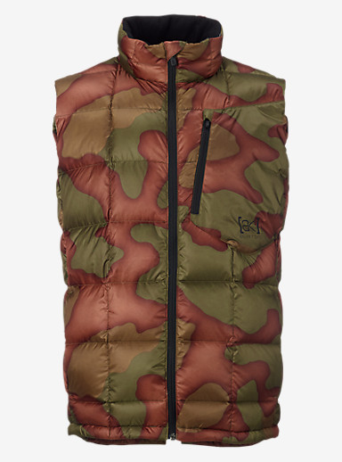 Burton [ak] BK Down Insulator Vest shown in Hombre Camo