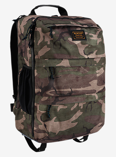 Burton Traverse Travel Pack shown in Bkamo Print