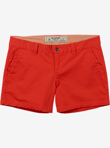 Burton Mid Short shown in Hot Coral