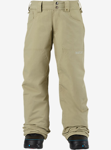 Burton Boys' TWC Greenlight Pant shown in Grayeen