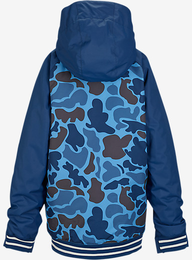 Burton Boys' Game Day Jacket shown in Blue Steel Duck Hunter Camo