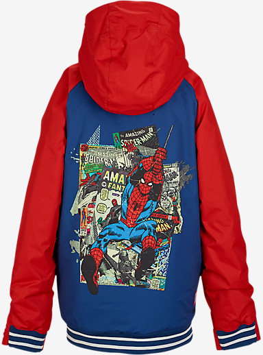 Marvel® x Burton Boys' Game Day Jacket shown in Spider Man© 2014 MARVEL