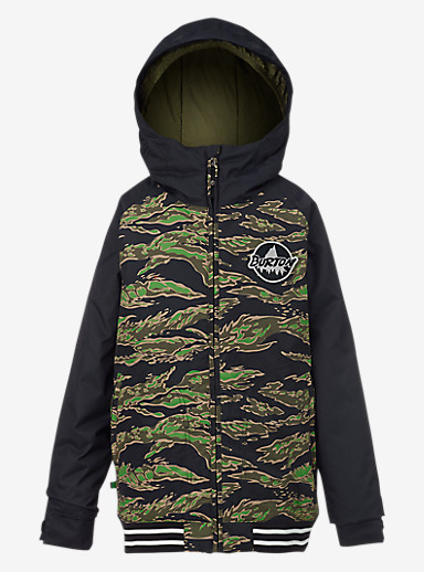 Burton Boys' Game Day Jacket shown in Beast Camo / True Black