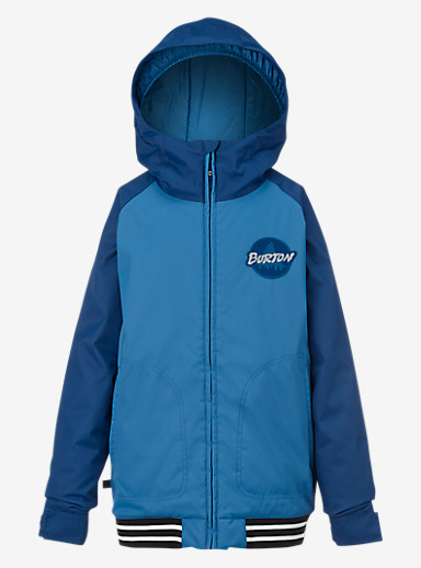 Burton Boys' Game Day Jacket shown in Boro / Glacier Blue