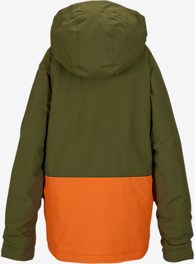 Burton Boys' Phase Jacket shown in Algae Block [bluesign® Approved]