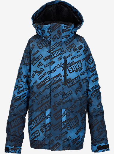 Burton Boys' Phase Jacket shown in Riot